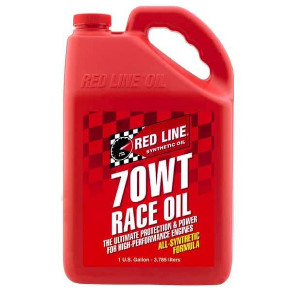 #084-070: Red Line® 70WT Nitro Drag Race Oil