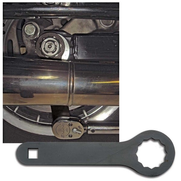 JIMS® Rear Axle Nut Torque Adapter